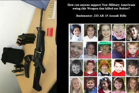 SANDY HOOK - BABIES - AR-15