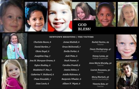 SANDY HOOK SCHOOL - VICTIMS