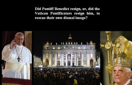 VATICAN - ABOUT COVER-UP