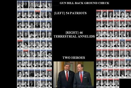 SENATORS 54 - 46 BACKGROUND CHECK-E