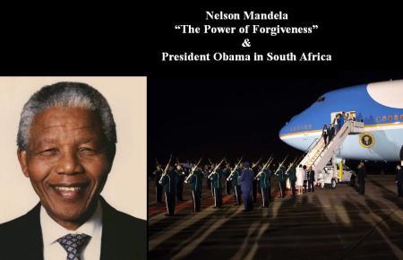 NELSON MANDELA - PRESIDENT OBAMA