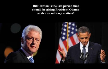 PRESIDENT OBAMA - BILL CLINTON