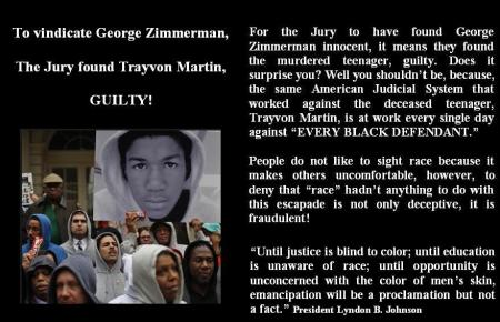 DEDICATED TO TRAYVON MARTIN
