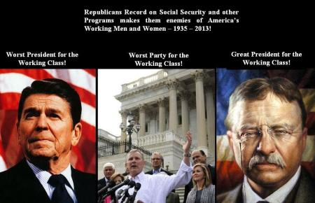 REPUBLICANS ARE AGAINST THE WORKING CLASS