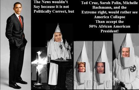 TED CRUZ - KKK