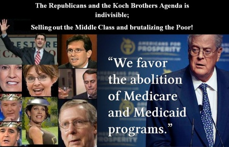 REPUBLICANS - THE KOCH BROTHERS APRIL 13 14