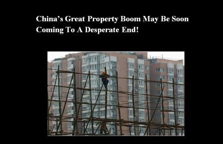 CHINA - CONSTRUCTION WOES