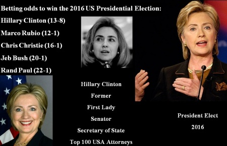 HILLARY CLINTON - PRESIDENT ELECT 2016 2