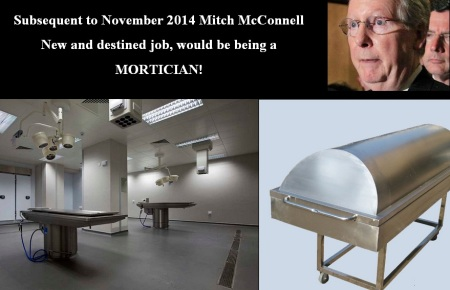MITCH McCONNELL - MORTICIAN