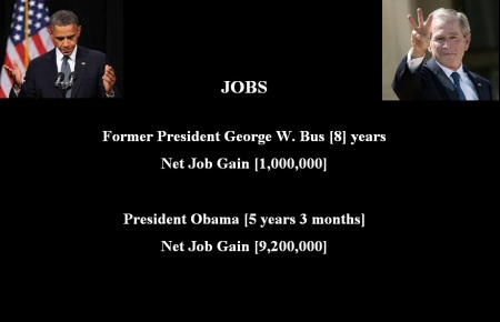 OBAMA - BUSH JOBS MAY 2 2014