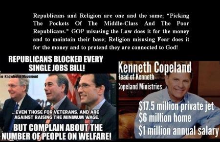 AMERICANS - GOP- RELIGION