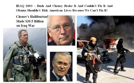 BUSH AND CHENEY - IRAQ - 2