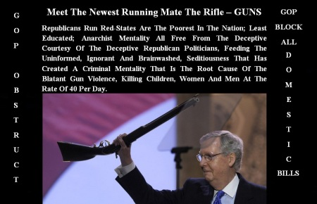 GOP - NEW RUNNING MATE - GUNS
