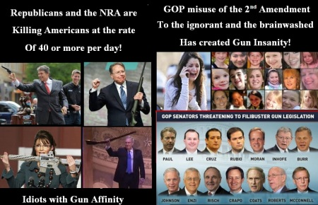 GOP - NRA - GUN DEATHS JUNE 8 2014