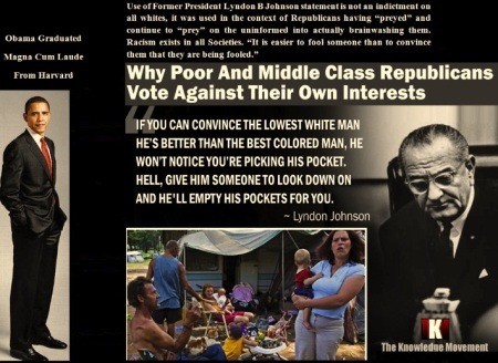 LYNDON B JOHNSON - PRESIDENT OBAMA - RACE JUNE 21 14 - 1