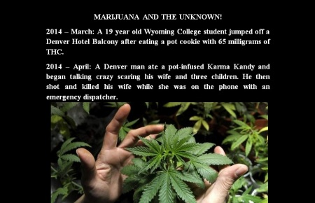 MARIJUANA AND THE UNKNOWN