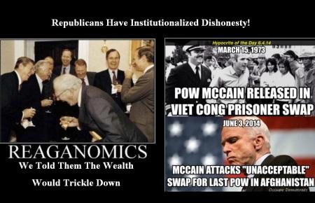 REPUBLICANS SHAMELESS DISHONESTY