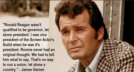 AMERICA - JAMES GARNER - REAGAN