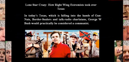 AMERICA - TEXAS EXTREMISTS - GUN NUTS