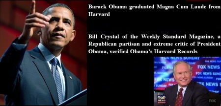 BARACK OBAMA - BILL CRYSTAL - OBAMA HARVARD RECORD