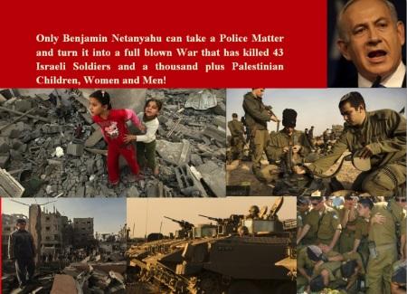ISRAEL - GAZA CONFLICT - BENJAMIN NETANYAHU-e