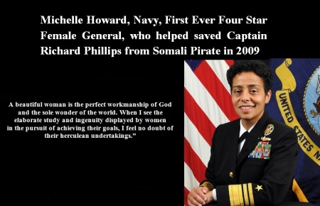NAVY - FIRST FOUR STAR GENERAL MICHELL HOWARD