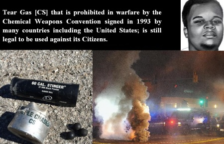 AMERICA - TEAR GAS - FERGUSON AUGUST 18 14