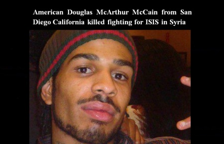 AMERICAN DOUGLAS McARTHUR McCAIN - ISIS