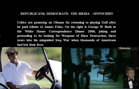 BARACK OBAMA - GOLF - JAMES FOLEY AUG 22 14 NYT