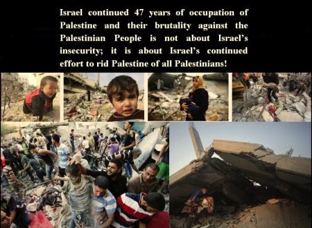 ISRAEL GAZA GENOCIDE AUGUST 4 2014
