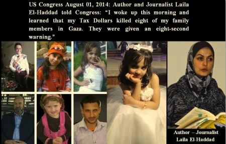 LAILA EL-HADDAD AUTHOR FAMILY KILLED AUGUST 01 2014