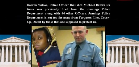 MICHAEL BROWN - KILLED BY DARREN WILSON