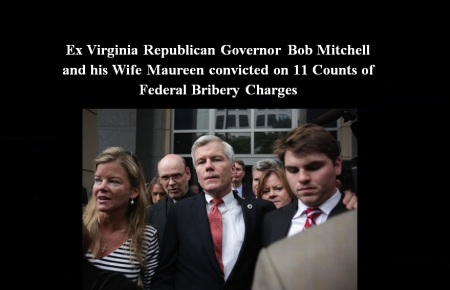 BOB MITCHELL EX GOP GOVERNOR AND WIFE SEPT 4 14