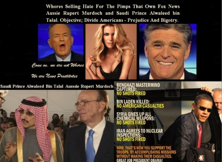 FOX NEWS WHORES SEPTEMBER 1 2014