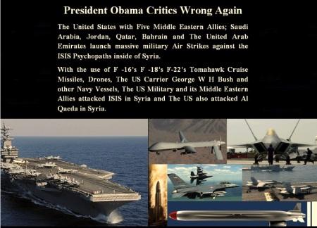 OBAMA - SYRIA - ISIS
