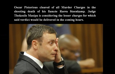 OSCAR PISTORIOUS SEP 11 14