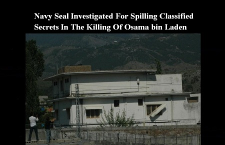 BIN LADEN - NAVY SEAL INVESTIGATION