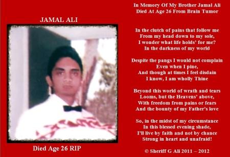 JAMAL ALI DIED AGE 26 2