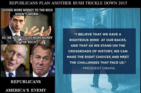 GOP 2015 BUSH TRICKLE DOWN