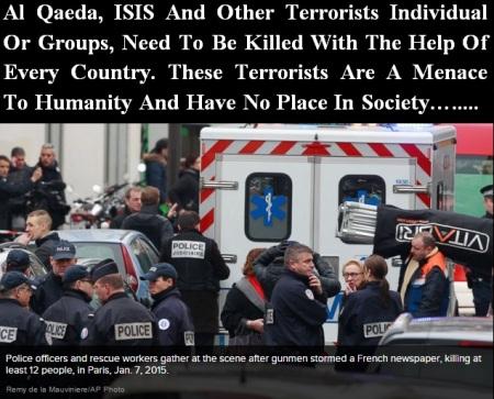 RELIGIOUS KILLERS JAN 7 2015 - 2