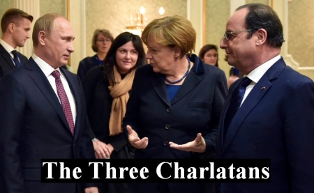 UKRAINE THREE CHARLATANS