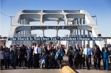 BLOODY SUNDAY REMEMBERED - SELMA MARCH 7 2015 - 2