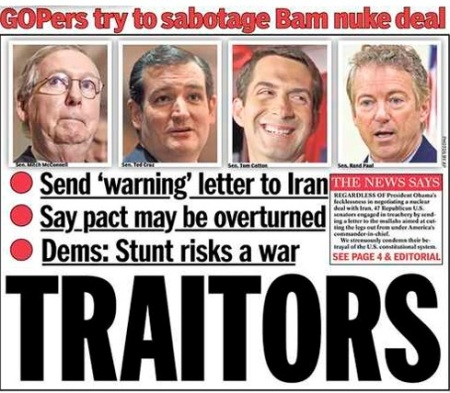GOP NEW YORK DAILY TRAITORS MARCH 12 15