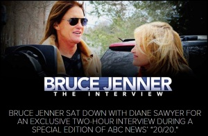 BRUCE JENNER - DIANE SAWYER APIL 24 2015