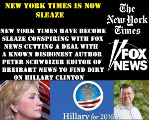 FOX NEWS - NEW YORK TIMES HILLARY CLINTON