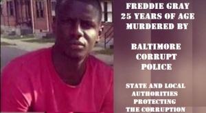 FREDDIE GRAY MURDERED