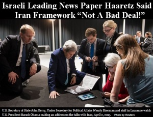 HAARETZ ISRAEL NEWS PAPER IRAN NOT A BAD DEAL