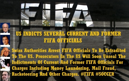 FIFA OFFICIALS ARRESTED MAY 27 15