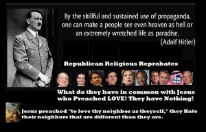 HITLER ADOLF - REPUBLICAN FANATICS