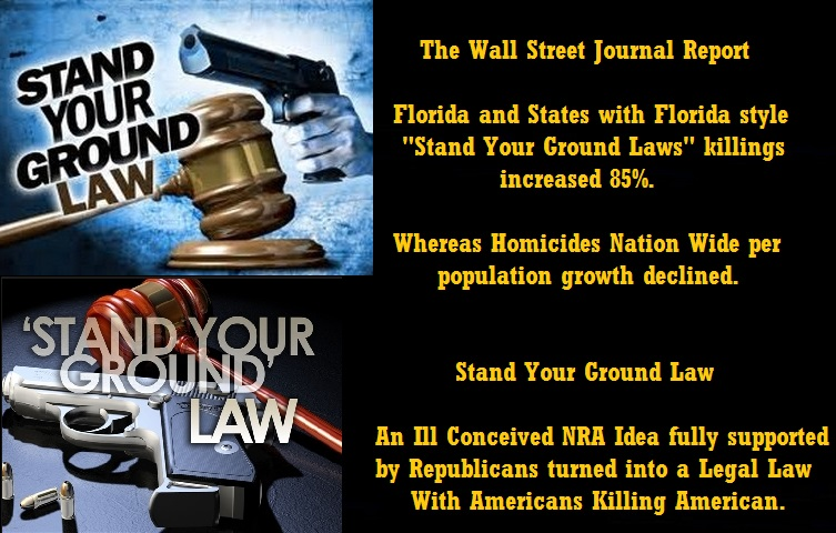 stand your ground legal to kill Many states have enacted so-called stand your ground laws that remove the duty to retreat before using force in self-defenseflorida passed the first such law in 2005, generally allowing people to stand their ground instead of retreating if they reasonably believe doing so will prevent death or great bodily harm.